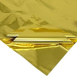 MYLAR EMBROIDERY GOLD SHEETS BUY 3 GET 1 OPALSCENT FREE & FREE S/H