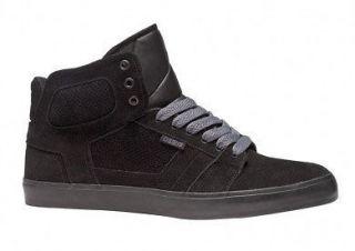 OSIRIS Skate Shoes EFFECT High Tops BLACK/BLACK/BLACK Size 10.5