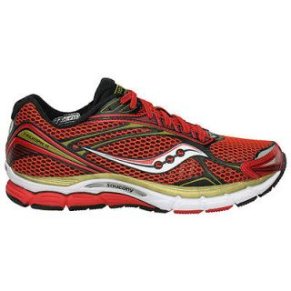 Mens PowerGrid Triumph 9 Running Shoe RED/WHITE/GOLD NWT 20137 8