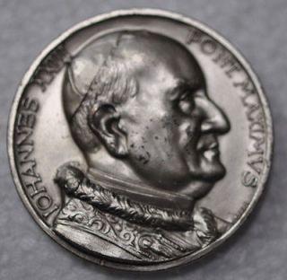 POPE JOHN XXIII IOHANNES XXIII PONT MAXIMVS CATHOLIC MARKED AFFER