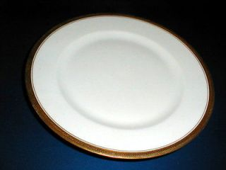 China Czech/Czechoslovakia #VIT167 Gold Encrusted Dinner Plate/s