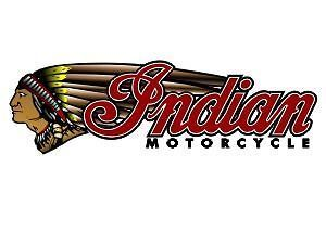 Huge Left 6x20 INDIAN MOTORCYCLE Trailer Decal 503R