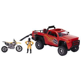 Dirt Bike Toy and Truck Shift Dirt Bike Gear