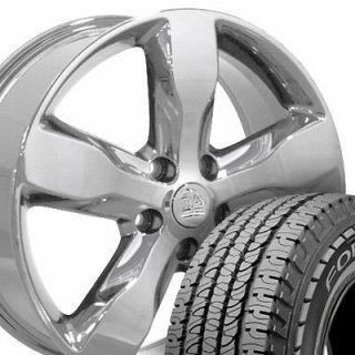 20 Chrome Jeep Grand Cherokee Wheels Set of 4 OEM Rims 9107 Goodyear
