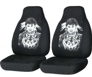 cool indian girl front car seat covers choose color ,BACK SEAT COVER