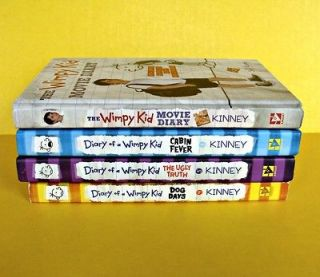 Lot Diary of a Wimpy Kid Books Cabin Fever Movie Diary Ugly Truth Dog