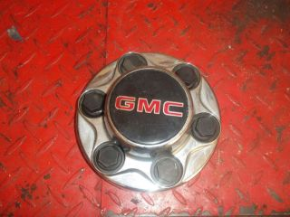 GMC TRUCK 6 lug center caps with nut covers