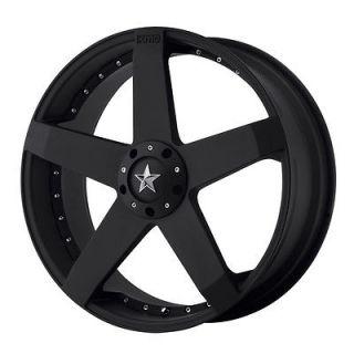 18x8 KMC Rockstar Black Wheel/Rim(s) 5x108 5 108 5x4.25 18 8