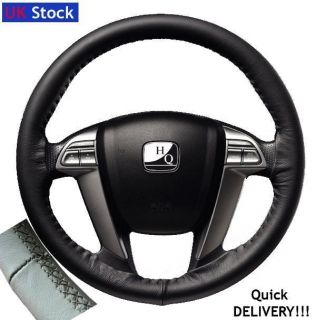 Italian Leather Steering Wheel Cover VW