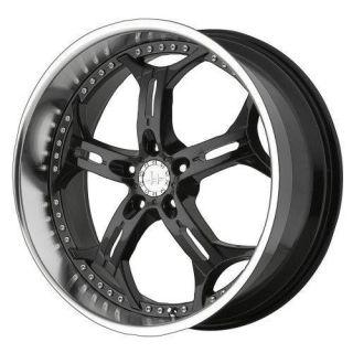 20 inch Helo He834 Black wheels rim 5x115 Dodge Charger