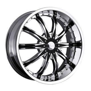 22 inch VCT Abruzzi chrome wheel rim 5x115 Equinox Uplander Venture