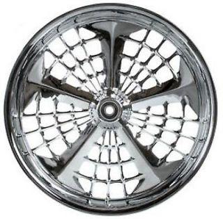 Chrome Wheel Set w/Tires & Rotors Harley FLT FLH 02 07