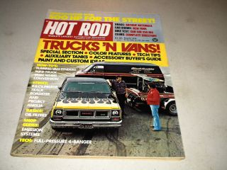 Aug 1974 Antique National Drag Races Ford Mini Truck Dual Wheel Conv