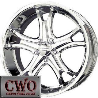 Newly listed 22 Chrome Spline Wheels Rims 6x139.7 6 Lug Escalade Tahoe