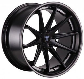 20 ROHANA RC10 STAGGERED WHEELS 5X114.3 MATTE BLACK FITS FORD MUSTANG