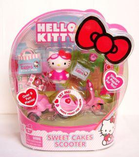 NEW Sanrio Mini Hello Kitty Sweet Cakes Scooter Remote Control R/C
