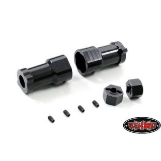PREDATOR TRACKS REAR FITTING KIT FOR AXIAL AX 10 AXLES