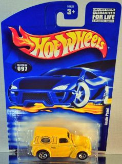 Hot Wheels Anglia Panel 2001 Mainline Yellow