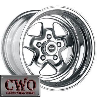 17 Polished Ridler 655 Wheels Rims 5x4.75 5 Lug Camaro GTO S 10 Blazer