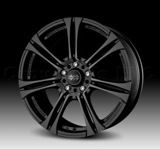 MOMO Car Wheel Rim Next Black 17 x 7 inch 5 on 114.3 mm   Part