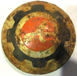 Ariens snowblower hub cap hubcap 10288 01028800 logo vintage 70s