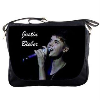 Justin Bieber Messenger Bag Shoulder Bag Schoolbag