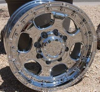 HE842 RIMS CHEVY 2500 Silverado Sierra DODGE RAM H2 8 LUG WHEELS