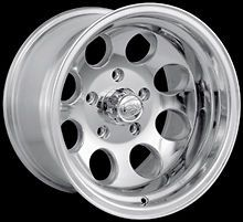 CPP ION Alloys style 171 Wheels Rims 17x9, 5x135mm Polished Aluminum