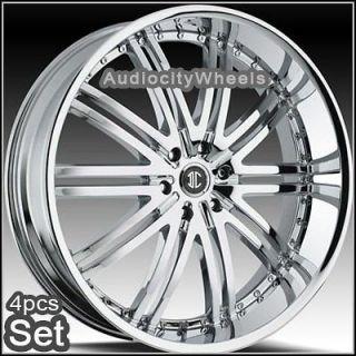 24 inch D1 Wheels for Land Range Rover, FX35 Rims