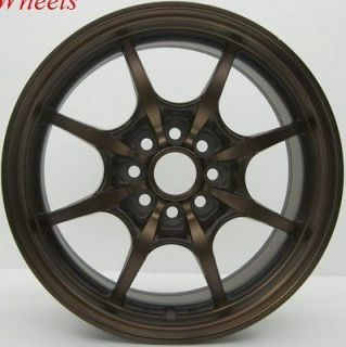ROTA CIRCUIT 8 16X7 4X100 4X114.3 SPORT BRONZE WHEELS