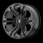 24 Inch Black Rims Wheels Chevy Truck Silverado 1500 Tahoe Suburban