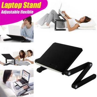 Folding Adjustable flexible stand BLACK for Laptop Notebook SmartPad