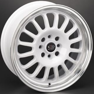 ROTA TRACK R 16X7 5X114.3 +40 ROYAL WHITE RIMS WHEELS