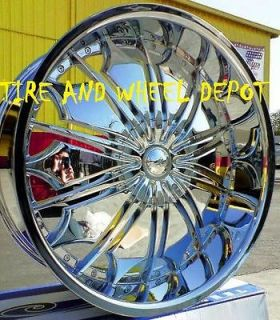 28 INCH TF706 RIMS WHEELS AND TIRES AVALANCHE NAVIGATOR MARK LT YUKON