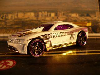Chevy Camaro Wide Body Custom 2011 Diamond White Gold