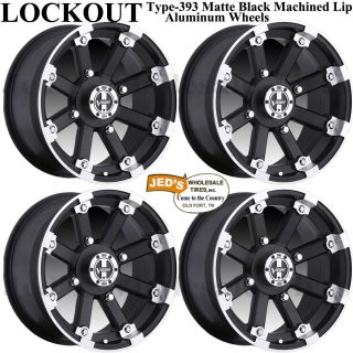 393 MBML Aluminum Rims Wheels Fits 2010 2013 Arctic Cat TRV 700