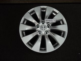 Honda Accord Wheels OEM OE Factory Rims 17 TOURING V6 4DR DEALER 2013
