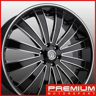 26 inch Rims Wheels VE225 Wheels Rims Chevy Tahoe Yukon Titan Wheels