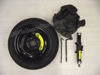 2012 2013 Kia Soul 16 Spare Tire Kit w Jack Rim Tools Temporary Wheel