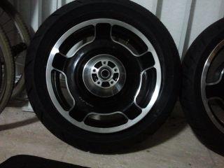 2013 Harley Davidson Road Glide FLTRX Street Glide Wheel Rim Tire Rear