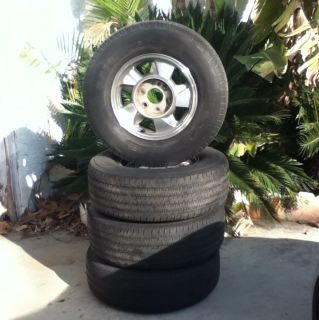 Chevrolet Tahoe 4 Rims and Tires 2001 2011