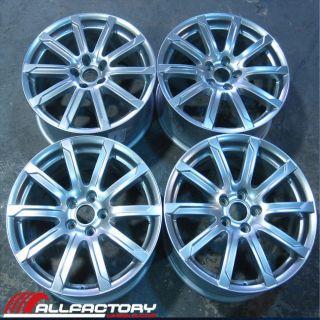 Audi A4 S4 18 2009 2010 2011 09 10 11 Factory Rims Wheels Set of Four