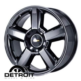 AVALANCHE SILVERADO TAHOE 2007 2011 PVD Black Chrome Wheels Rims