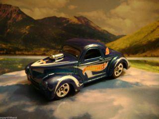 41 Willys 2011 Hot Wheels Racing Series Blue