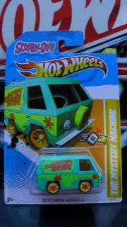 Hot Wheels 2012 The Mystery Machine Custom Super Real Riders New
