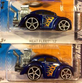 2012 Hot Wheels Volkswagen Beetle Bug Motor Variation RARE VW Error
