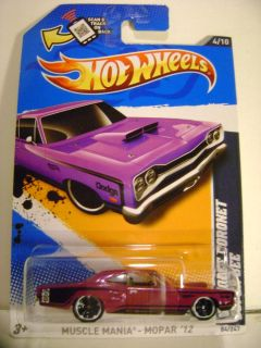 2012 Hot Wheels 84 69 Dodge Coronet Super Bee Muscle Mania Mopar 4 10