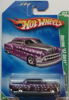 2009 Hot Wheels Treasure Hunts Custom 53 Chevy 7 12