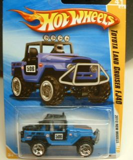 New Hot Wheels Toyota Land Cruiser FJ40 from 2010