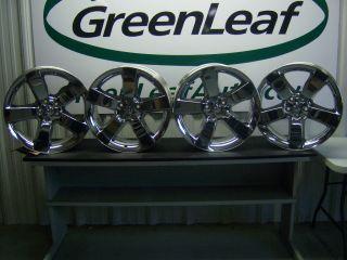 Challenger SRT8 20 Chrome Aluminum Wheels Rims 2009 2011 Factory Oem 4